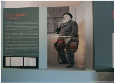 expo Courbet-Isabey-flagey