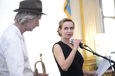 Photo de Sandrine Bonnaire et Erik Truffaz