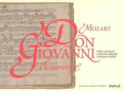 Couverture du livre Mozart, Don Giovanni, Le manuscrit