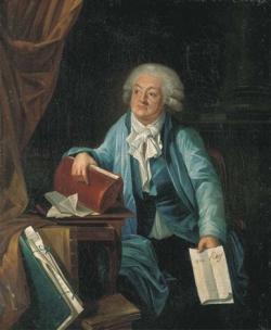 portrait du comte mirabeau tenant l'adresse au roi par laurent dabos