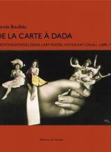 Couverture du livre De la carte à Dada. Photomontages dans l'art postal international (1895-1925)